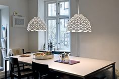 LC Shutters pendants by Louise Campbell for Louis Poulsen