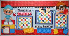 PAPER PIECING MEMORIES BY BABS: Brothers