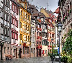 Weissgerbergasse Nuremberg, Bavaria, Germany