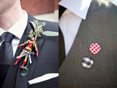 I'm thinking Matt might need to wear a little toy car as a boutonniere!