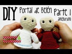DIY Portal de Belén Parte 1 amigurumi crochet/ganchillo (tutorial) - YouTube