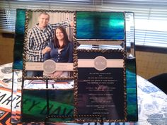 Stained Glass Wedding invitations
