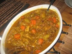 Posts about skaap bron written by kreatiewekosidees Lamb Recipes, Curry Recipes, Cooking Recipes, Healthy Recipes, Healthy Food, South African Recipes, Ethnic Recipes, How To Make Curry, Malva Pudding