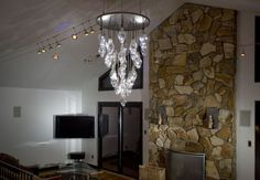 green design, eco design, sustainable design, BRC Design Studio, Benjamin Rollins Caldwell, Recycled chandelier, LED chandelier, recycled light bulb chandelier
