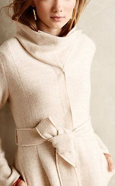 Shawled Wool Sweatercoat from Anthropologie, so cute for fall weather! Sweater Coats, Wool Sweaters, Sweater Jacket, Mode Style, Style Me, Classic Style, Sweater Weather, Fashion Beauty, Womens Fashion