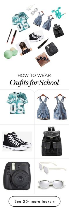 """""""Last Day of School"""" by live-love-music2016 on Polyvore featuring Isadora, Converse, Eos and Yves Saint Laurent"""