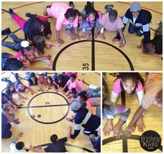 With the 4th and 5th grade students of Grandview Elementary, we enjoy trying different games during our gym time during the after school...
