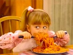 When you come home from college to eat real dinner