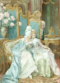 FRANCOIS BRUNERY.The love letter