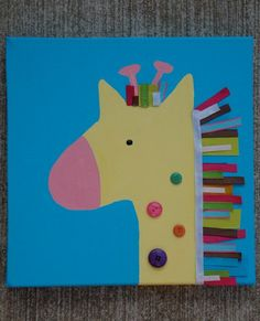 giraffe crafts for kid