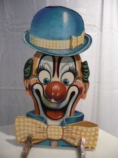Bozo the Clown Action Toy Dart Game Vintage Toys Childhood Toys, Childhood Memories, Vintage Toys, Retro Vintage, Bozo The Clown, Send In The Clowns, Clowning Around, Action Toys, Activity Games