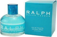 "Ralph by Ralph Lauren for Women, Eau De Toilette Natural Spray, 3.4 Ounce by Ralph Lauren. This was the first perfume I ever bought for myself (when I was 13/14). It's my go to party smell and every time I put it on my boyfriend goes *sniff sniff* ""What smells like High School?"" It's super fun and actually smells just like Benefit's facial wash, very apple-y and fresh and young."