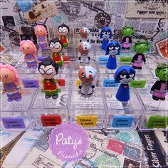 Caixinhas com tag Jovens Titãs em Ação - Paty's Biscuit