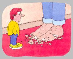 Casser les pieds:  ennuyer quelqu'un.  Ex: Tu me casses les pieds!