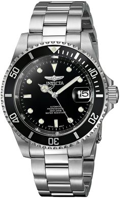 Amazon.com: Invicta Men's 8926OB Pro Diver Analog Stainless Steel Automatic Watch with Link Bracelet: Invicta: Watches
