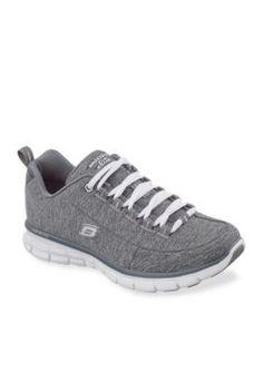 Skechers Gray Synergy Spot On Sneaker