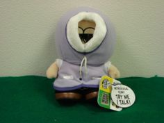 "South Park - 8"" Kenny Metrosexual Talking Plush 2005 - New with Tags"