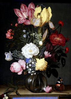 Jan Van Kessel - Vase of Flowers