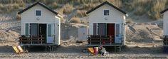 Slapen op strand - Strandslaaphuisjes Breezand bij Strandpaviljoen Breezand in Vrouwenpolder - Walcheren/Zeeland