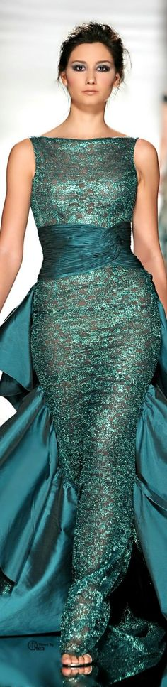 Gowns....Tempting Teals