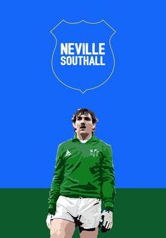 Neville Southall Everton design illustration football soccer