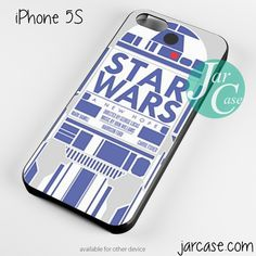 R2D2 starwars Phone case for iPhone 4/4s/5/5c/5s/6/6 plus