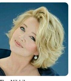 Check out the link to read more about short hairstyles ideas Short Wavy Hair, Short Hair With Layers, Cute Hairstyles For Short Hair, Pretty Hairstyles, Hair Styles For Women Over 50, Short Hair Cuts For Women, Medium Hair Styles, Curly Hair Styles, Hair Affair
