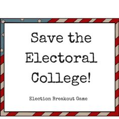 This game was designed for high school students to help them review what they've learned about the election process and our historical documents. This purchase includes an introductory video to show students, clues, answer sheets, hint cards, and every digital file that you need for the breakout.