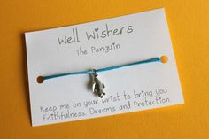 ♥ The message on the card is inspired by the charm and what it symbolises. For example : The Bird House Bracelet - Keep me on your wrist you bring you Freedom, Creativity and Imagination. Wish Bracelets, Bird Jewelry, Bird Cards, Etsy Uk, Travel Gifts, Gifts For Friends, Penguins, Friendship Bracelets, My Etsy Shop