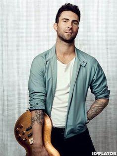 Adam Levine.  Oh my.
