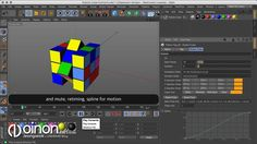 Rubik's cube setting that can animate with Python. I got an idea from IlIr BeQIRI's Tutorial and would like to thank you.  download : http://oinon.net/blog/plugin/js-rubiks-cube/ IlIr BeQIRI's Tutorial: vimeo.com/204687642