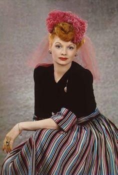 Lucille Ball. Photo: Harry Warnecke