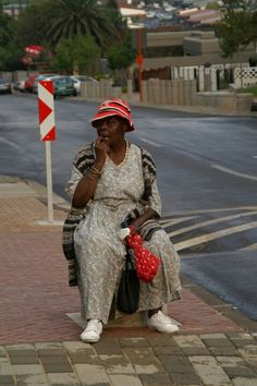 Woman in Soweto, South Africa