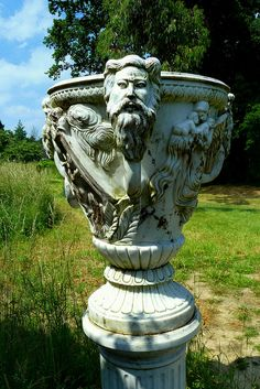 Marble Vase at Hever Castle | Flickr - Photo Sharing!