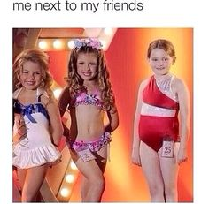 Gawd this is painfully accurate. >> I know right! I look so fab. (I'm the one in the middle).