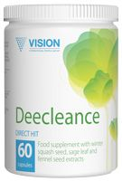 Focused Cleansing Ultimately balanced formula of Deecleance contains 7 unique ingredients with a conspicuous antiparasitic action. Not only Deecleance cleanses the body of parasites, fungi and pathogenic bacteria, but also stimulates digestion, increasing salivation, secretion of gastric juice and digestive enzymes. It also improves intestinal motility and removes toxins from the body.