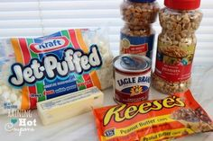 My grandmother introduced me to Pay Day candy bars when I was very young and I love them still. I want to try this, it sounds almost as easy as rice crispy treats?