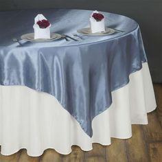 "Wedding Party nn 50 pcs Satin Chair Cover Bow Sash 108/""x8/"" Royal Blue"