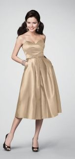 Alfred Angelo Style 7188 Bridesmaid Dress in Wheat