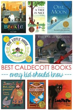 Best Caldecott Books : Looking for fun picture books? Check out this list of the best ever Caldecott award books children-and even adults--should know. Preschool Books, Book Activities, Sequencing Activities, Kindergarten Books, Books For Boys, Childrens Books, Baby Books, Toddler Books, Children's Picture Books