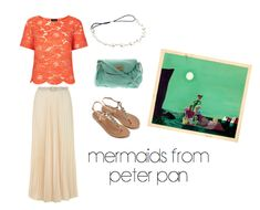 I love this Peter Pan Mermaid inspired outfit! The skirt is so pretty!