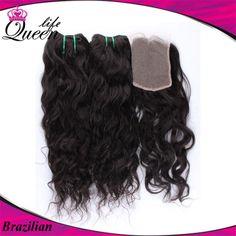 Sew In With Closure, Lace Closure, Brazilian Deep Wave, Brazilian Hair, Mocha Hair, Full Sew In, Natural Waves, Queen Hair, Cute Cuts