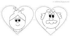 Los Niños: Κάρτα Καρδιά για τον ΠΑΠΠΟΥ και τη ΓΙΑΓΙΑ Paper Bag Crafts, K Crafts, Crafts For Kids, Kindergarten Activities, Toddler Activities, Grandparents Day Activities, Family Theme, Grands Parents, Autumn Crafts