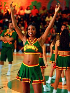 The prototype for Danielle from Bring It On the Movie, Gabrielle Union.  Look at those uniforms!