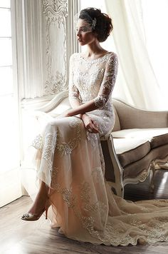 Romantic ballgowns, chic sheath dresses, form-fitting mermaid gowns.. Check out Maggie Sottero Spring 2015 bridal collection.