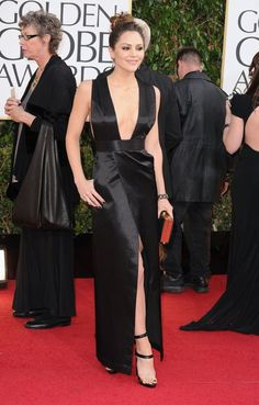 Katharine McPhee - As much as I love her and wanna like it this is just bad. Maybe its the shiny textured fabric.