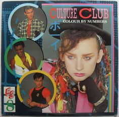 1980s Gay Rights | 1983 CULTURE CLUB Colour By Numbers 1980s BOY GEORGE LP record album ...