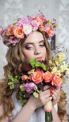 Beauty Isnt She Lovely, Haberdashery, Headpieces, Veils, Beautiful Children, Gardens, Shapes, Spring, Flowers