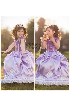 Sofia the First Princess Gown Costume by EllaDynae on Etsy  sc 1 st  Pinterest & HALLOWEEN DELIVERY W/RUSH Sofia the First Princess Gown Costume ...