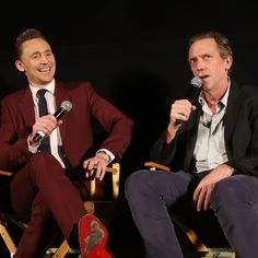 Tom Hiddleston and Hugh Laurie attend the ATAS-SAG Panel and Screening of AMC's 'The Night Manager' at the Egyptian Theater on April 7, 2016 in Los Angeles, California. Full size image: http://ww4.sinaimg.cn/large/6e14d388jw1f2pd1zmz4sj22bc1lmtl4.jpg Source: Torrilla, Weibo http://www.weibo.com/1846858632/Dq1uVt1EV?from=page_1005051846858632_profile&wvr=6&mod=weibotime&type=comment#_rnd1460137096751